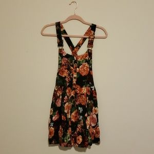 Rue21 Floral Overall Dress